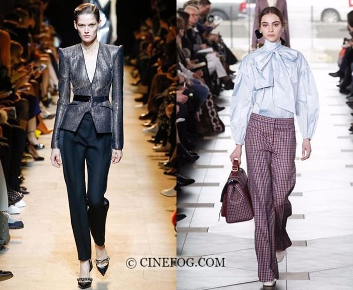Fall-Winter 2017-2018 Fashion Trends: pants with blazer ...