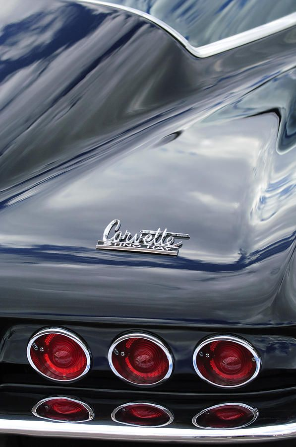 1966 Chevrolet Corvette Tail Lights For The Car Lover In
