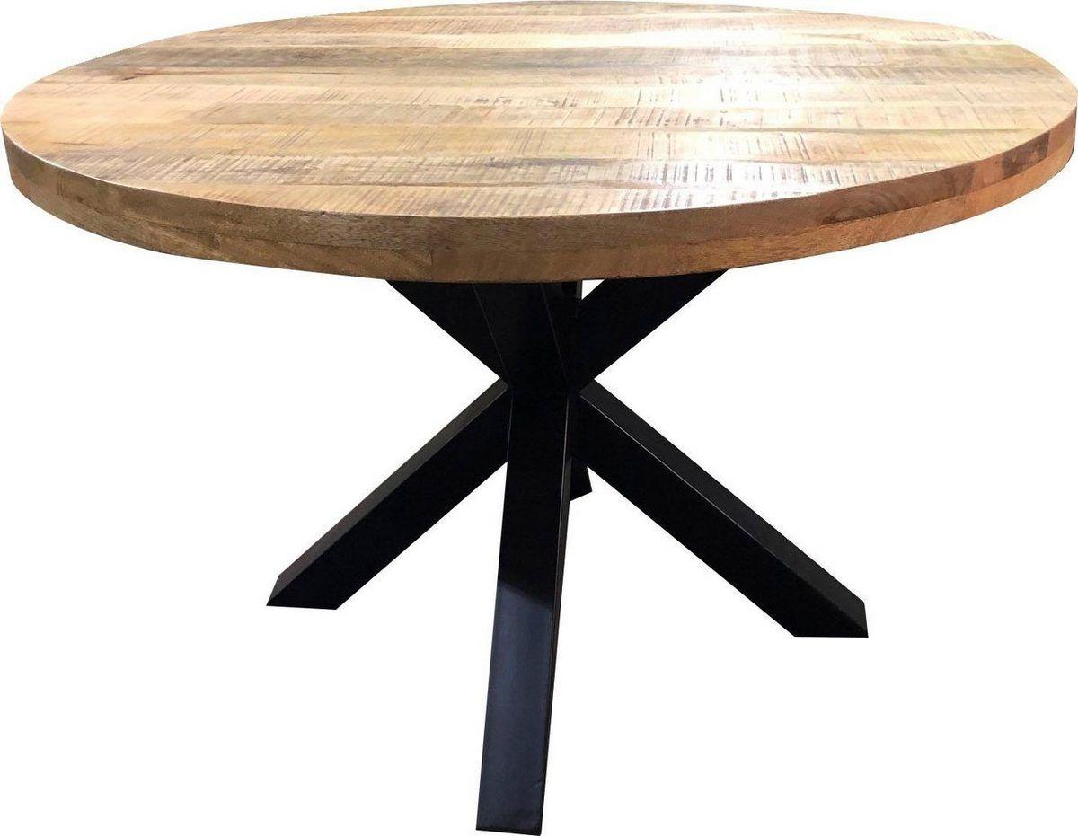 SIT Esstisch »Tops&Tables«, mit rustikaler runder ...
