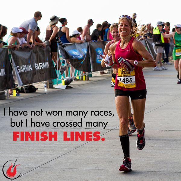 How many finish lines have you crossed? #finishlines #runningmotivation