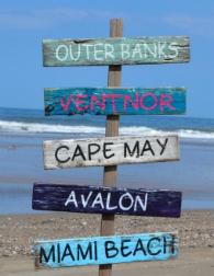 Wooden Beach Signs Decor Fascinating Best Wooden Beach Signs  Beachfront Decor  Coastal Wall Decor Inspiration Design
