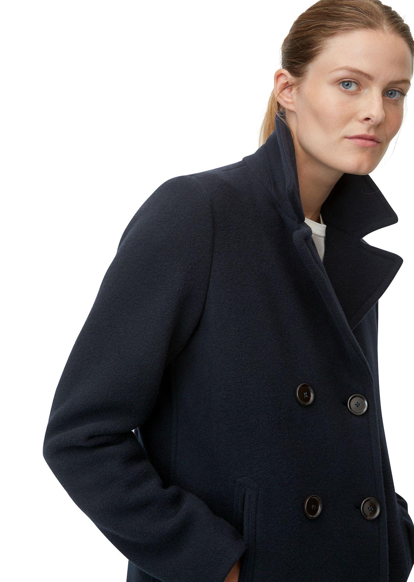 Marc O Polo Mantel Damen Nachtblau Grosse Xs Mantel Damen Nachtblau Und Mantel