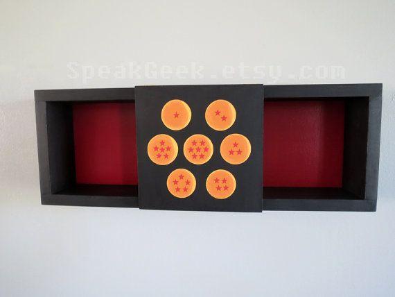 Dragon Ball Z - Shadow Box Shelf - Home Decor- Cubbie Shelf
