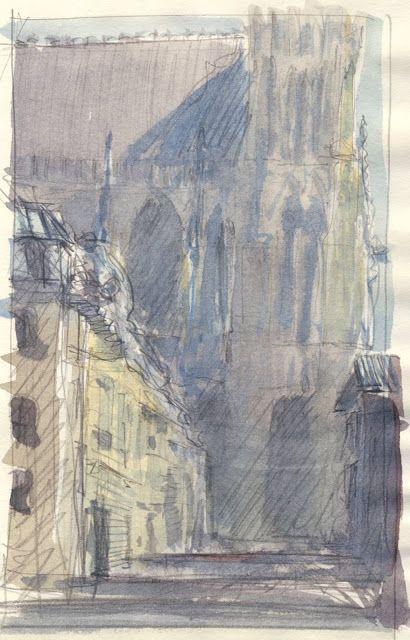 Epingle Par Philippe Dargent Sur Watercolors Aquarelles