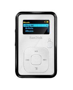 Sandisk Sansa Clip 4 Gb Mp3 Player White By Sandisk