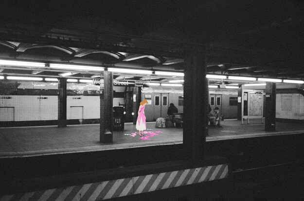 Cinderella in the subway