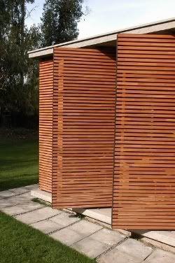 Detalle celos as fachadas pinterest celos as - Paneles de madera para exterior ...
