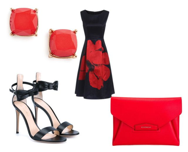 """Red with love ❤️❤️"" by marstahl on Polyvore featuring Gianvito Rossi, Givenchy and BP."
