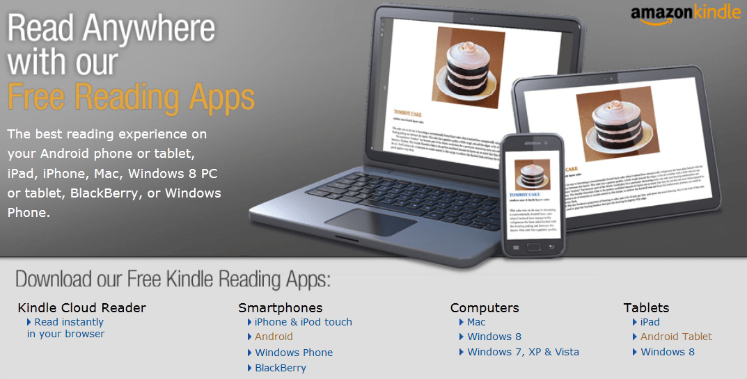 Download Amazon Kindle Free Reading App Mac ipad, Kindle