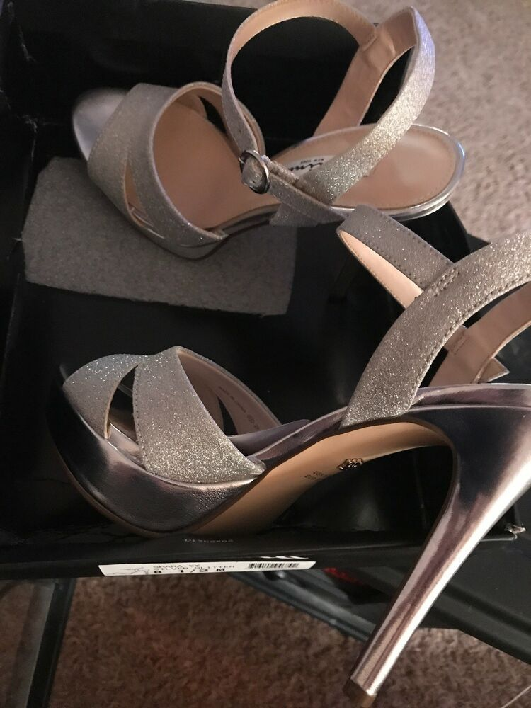 6d619216c5d NEW in Box - Nina Shara -YY SILVER GLITTER 8.5M  fashion  clothing  shoes   accessories  womensshoes  heels (ebay link)