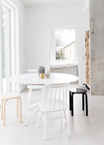 Interior Design Trends, mixmatched chairs