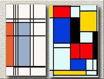 المدرسة التجريدية او الرسم التجريدى منتديات غيوم الثقافيه Mondrian Art Mondrian Canvas Art Prints