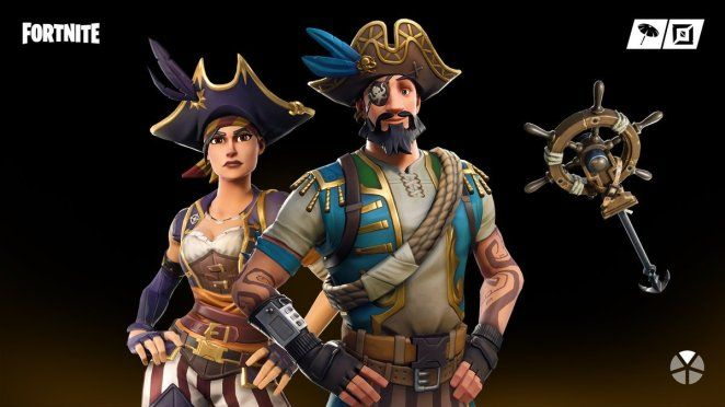Fortnite Item Shop 11th April  New Buccaneer and Sea Wolf Fortnite Skins New Peely Pick Pickaxe