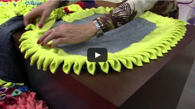 How to make cloth mat