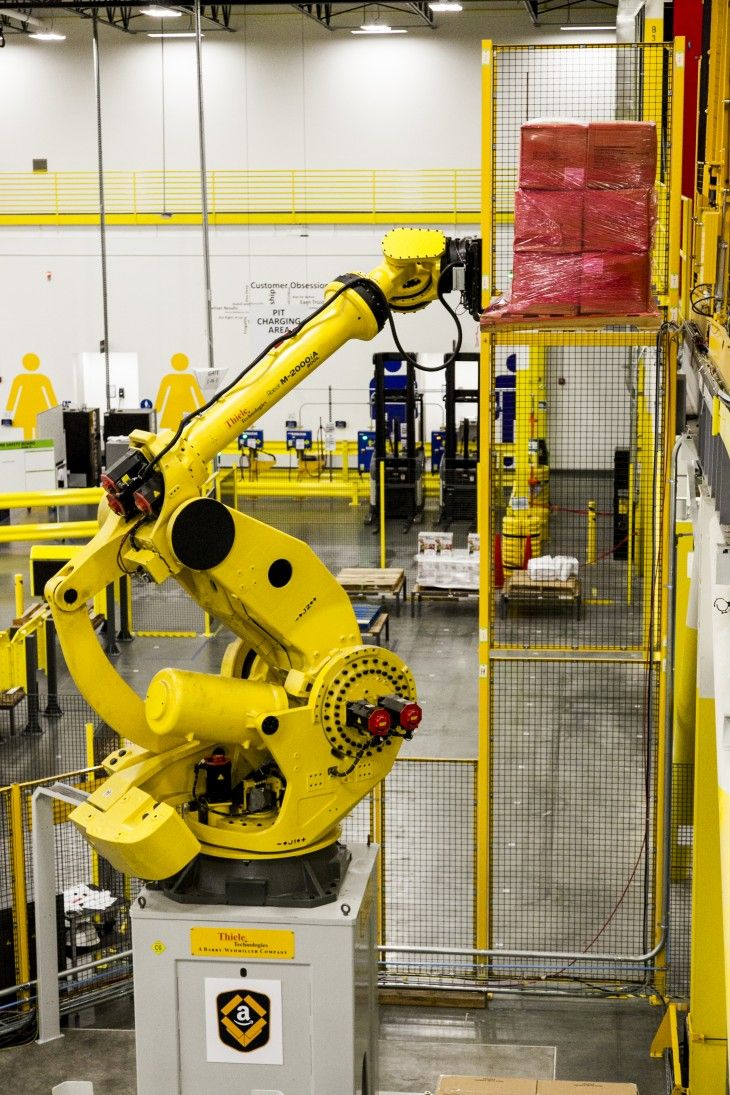 Amazon Unveils Its New Army Of Warehouse Robots But Still Needs