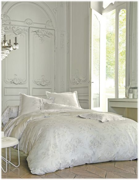 grande marque linge de lit blanc des vosges Linge de lit Blanc des Vosges modèle Curiosites disponible sur   grande marque linge de lit blanc des vosges