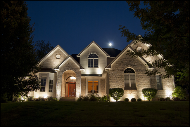 How To Use Landscape Lighting Techniques Exterior House Lights