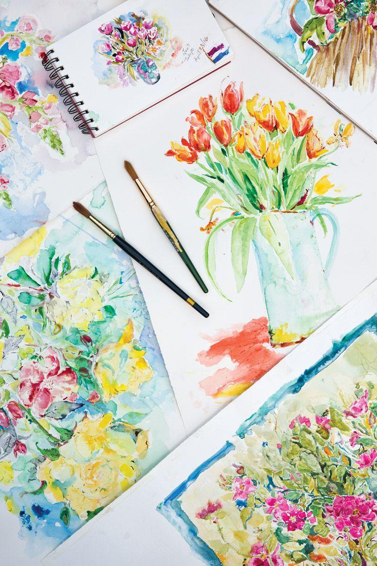 April cornell conversing in color victoria magazine