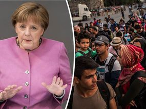 MIGRANTS arriving in Greece will be deported within days after a plan costing £16million a month is passed, Angela Merkel has warned.