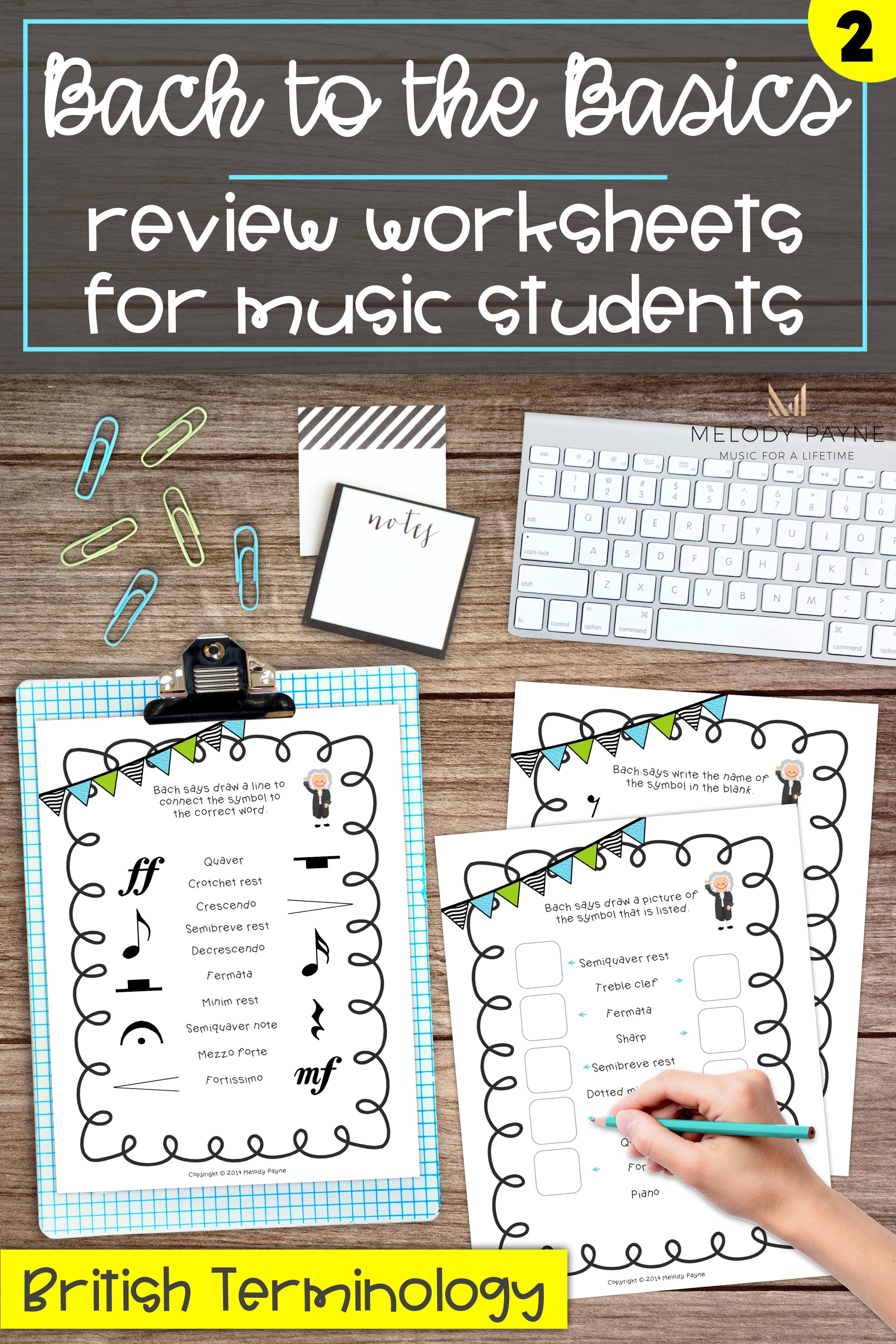 Bach To The Basics 2 Gives Students A Fun Way To Review