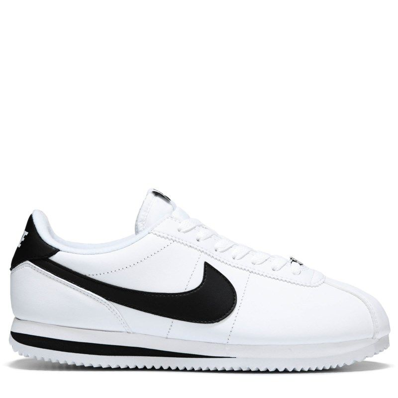 Cortez Basic Leather Sneakers (White