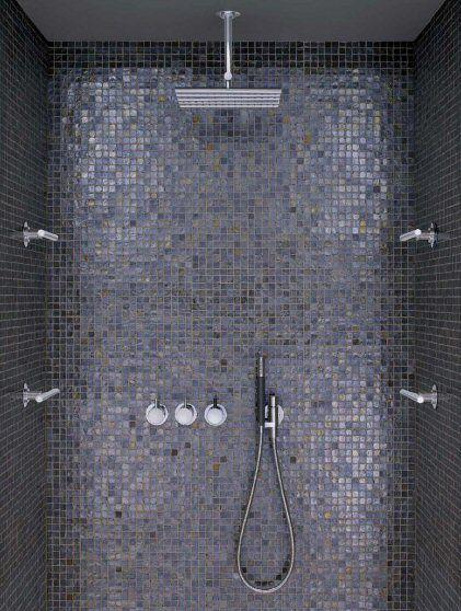 Vola Shower Set And Casamood Tiles. Zoou Ook Sicis Kunnen Zijn |  Verkrijgbaar Via Mozaiek