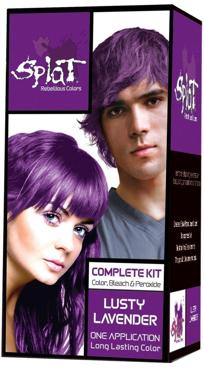 Splat rebellious colors lavender pack of splat rebellious