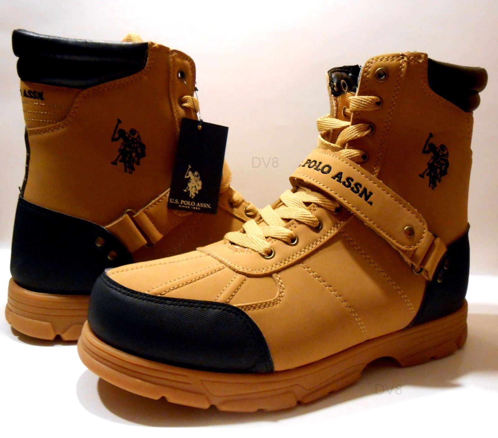 9a34d0143ba Details about Mens Boots by U.S. Polo Assn Crusade 2 Hi,Pick Your ...