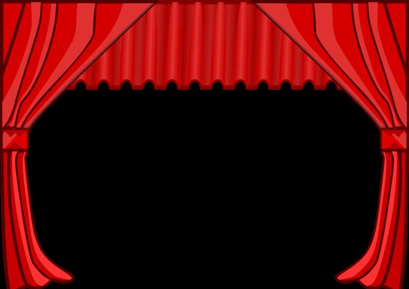 Clip Art Link Stage Curtains Theatre Curtains Clip Art