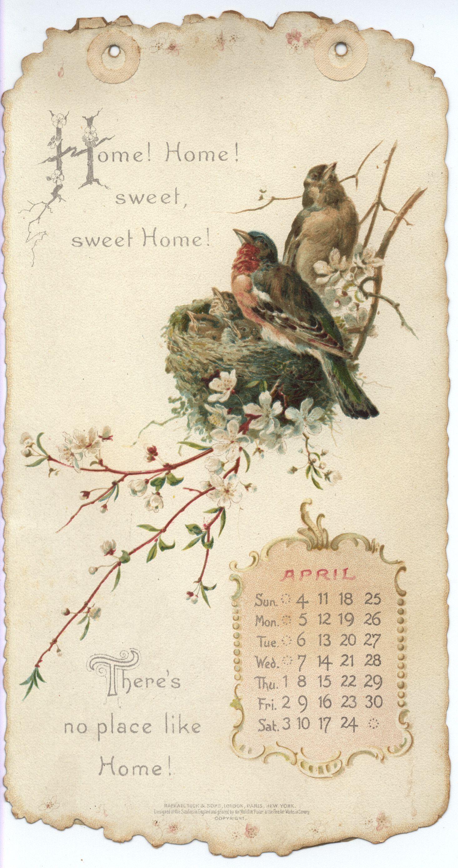 Home Sweet Home Calendar For Mix