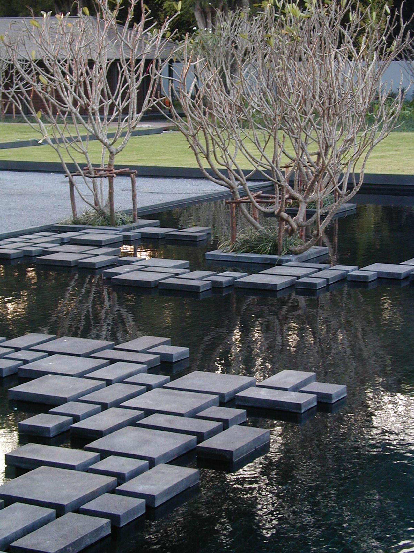 Utilizaci n de piedra en fachadas modernas dise o for Paisajismo jardines exteriores