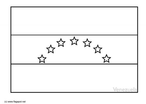 Spanish Flag Coloring Page In 2020 Coloring Pages Flag Coloring