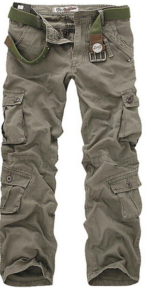 2fa0bebe5 New Combat Men's Cotton Military Camouflage Cargo Pants Army Camo Trousers:  Amazon.co.