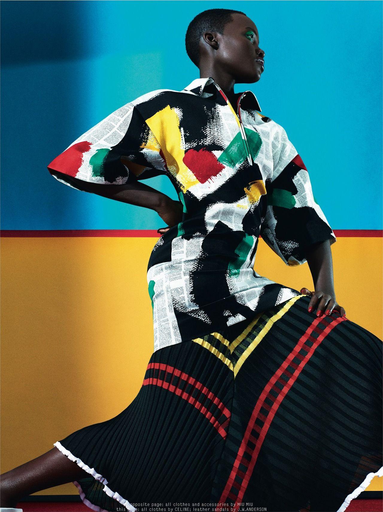 Lupita Nyong'o by Sharif Hamza for Dazed & Confused, February 2014