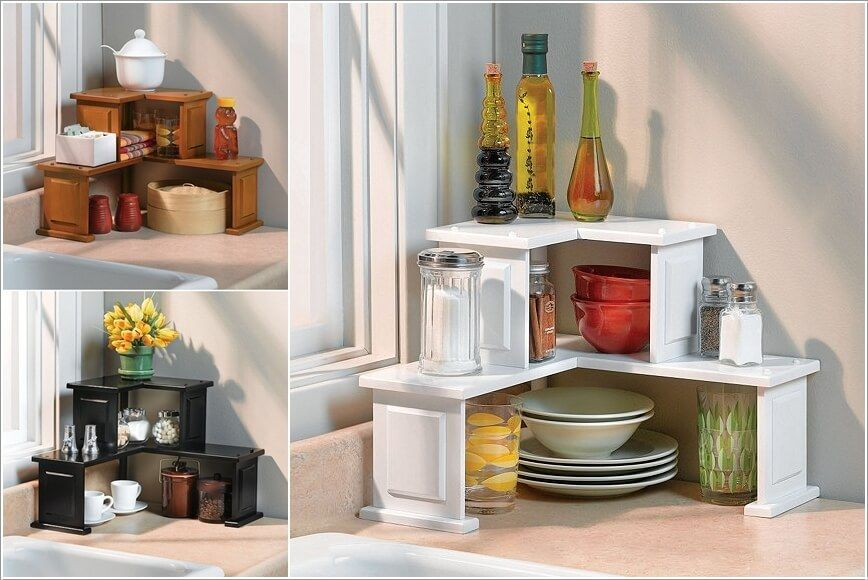 10 Clever Corner Storage Ideas For Your Home Kitchen Corner
