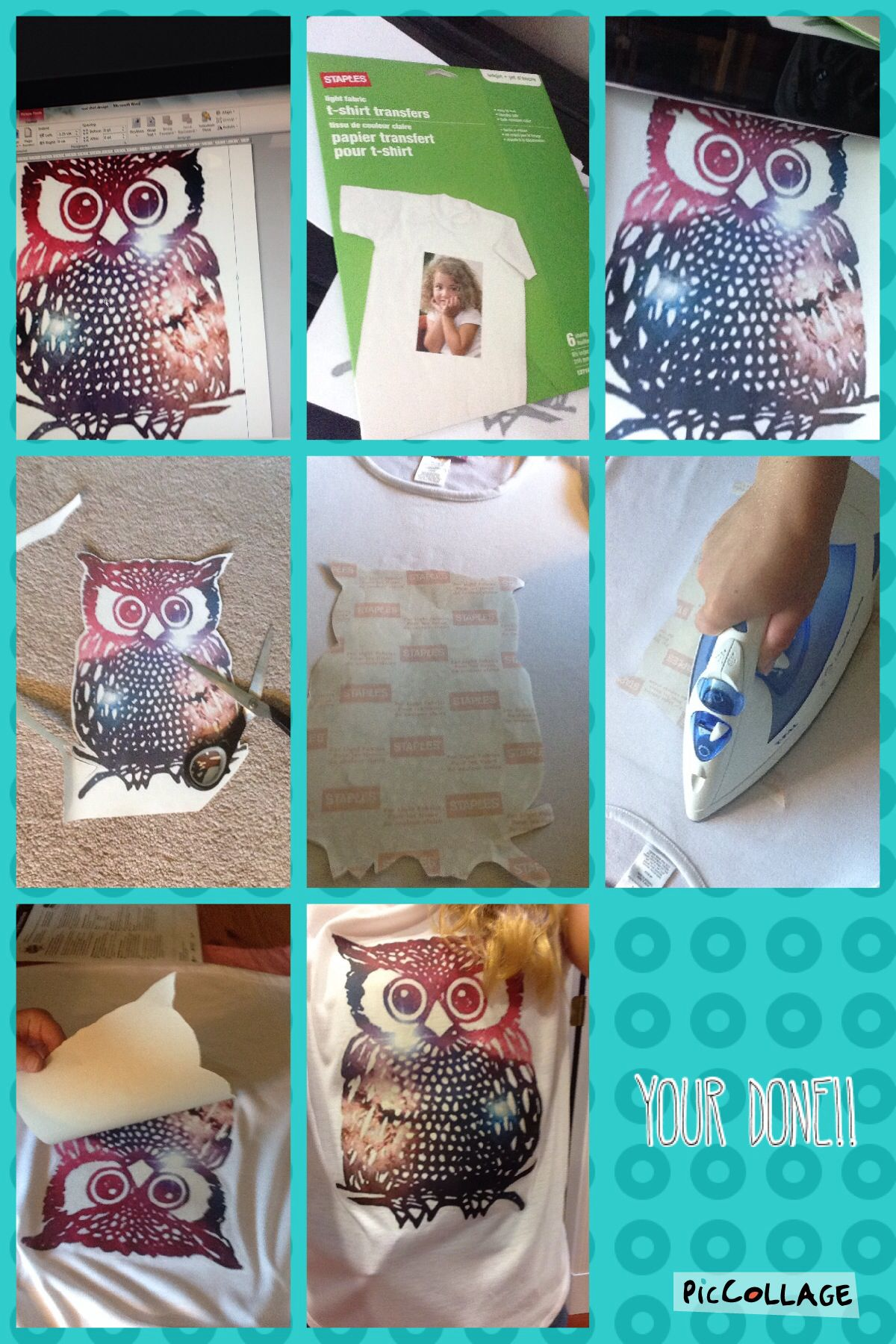 a7cd2af0 T Shirt Print Paper Staples - DREAMWORKS