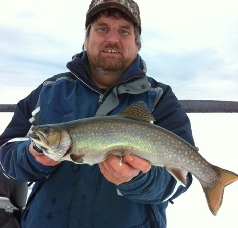 Huge Brook Trout Caught In Maine Fish Best Fishing Brook Trout