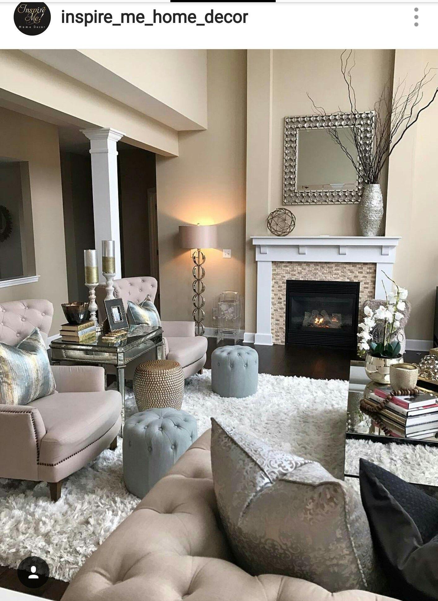 Pin von Cassandra B auf living room | Pinterest