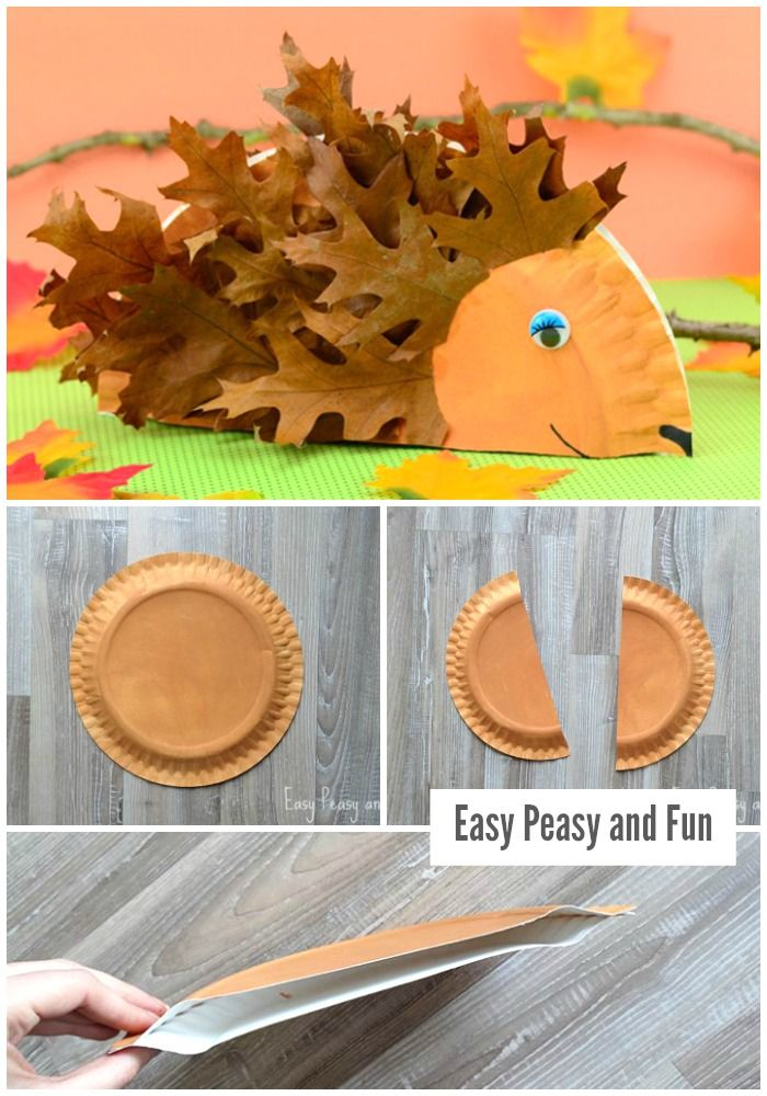 Paper Plate Hedgehog Craft - Fall Crafts for Kids  sc 1 st  Pinterest & Paper Plate Hedgehog Craft - Fall Crafts for Kids | Hedgehog craft ...