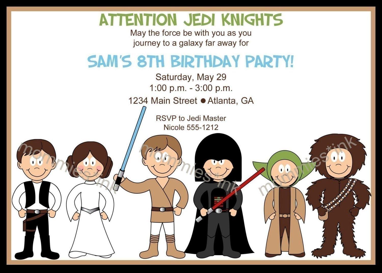 LEGO Star Wars Invitations Printable   the dudes   Pinterest   Star ...