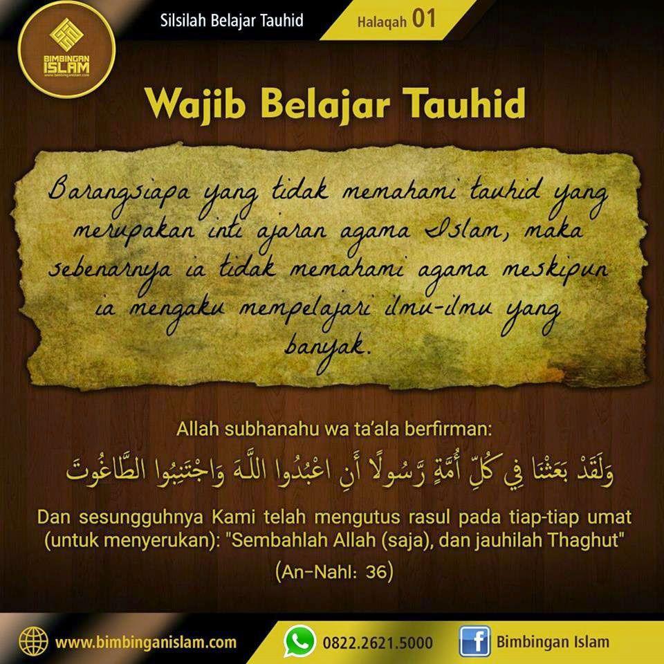 Pin oleh Nasihat Sahabat di Tauhid, Akidah & Manhaj Sesuai