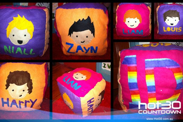 one direction pillow!!!!
