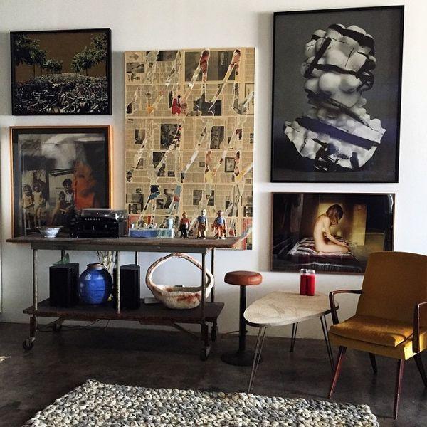 Inside Apartments Cheap: Step Inside Emily Ratajkowski's Art-Filled L.A. Apartment