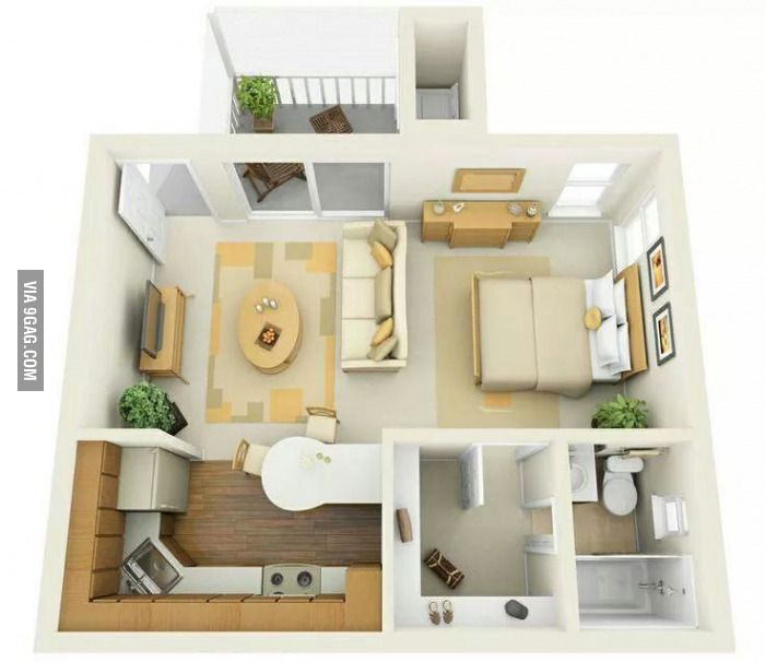 The Apartment People: Small House Design For Single People.