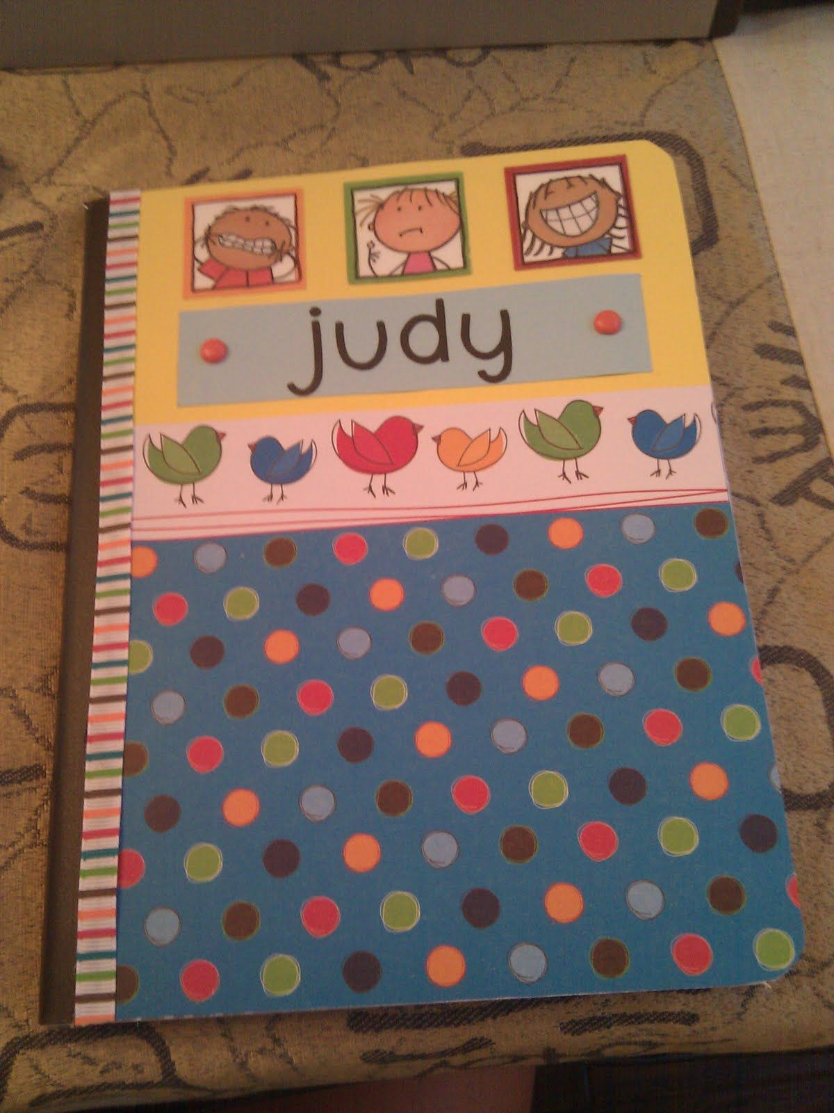 Decorated Composition Notebooks Management Notebook Decorate