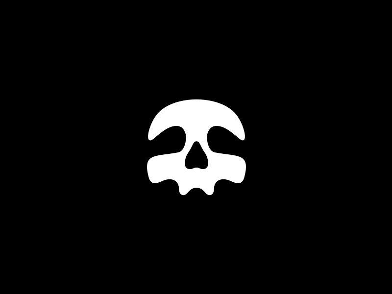 skull logos design corporate