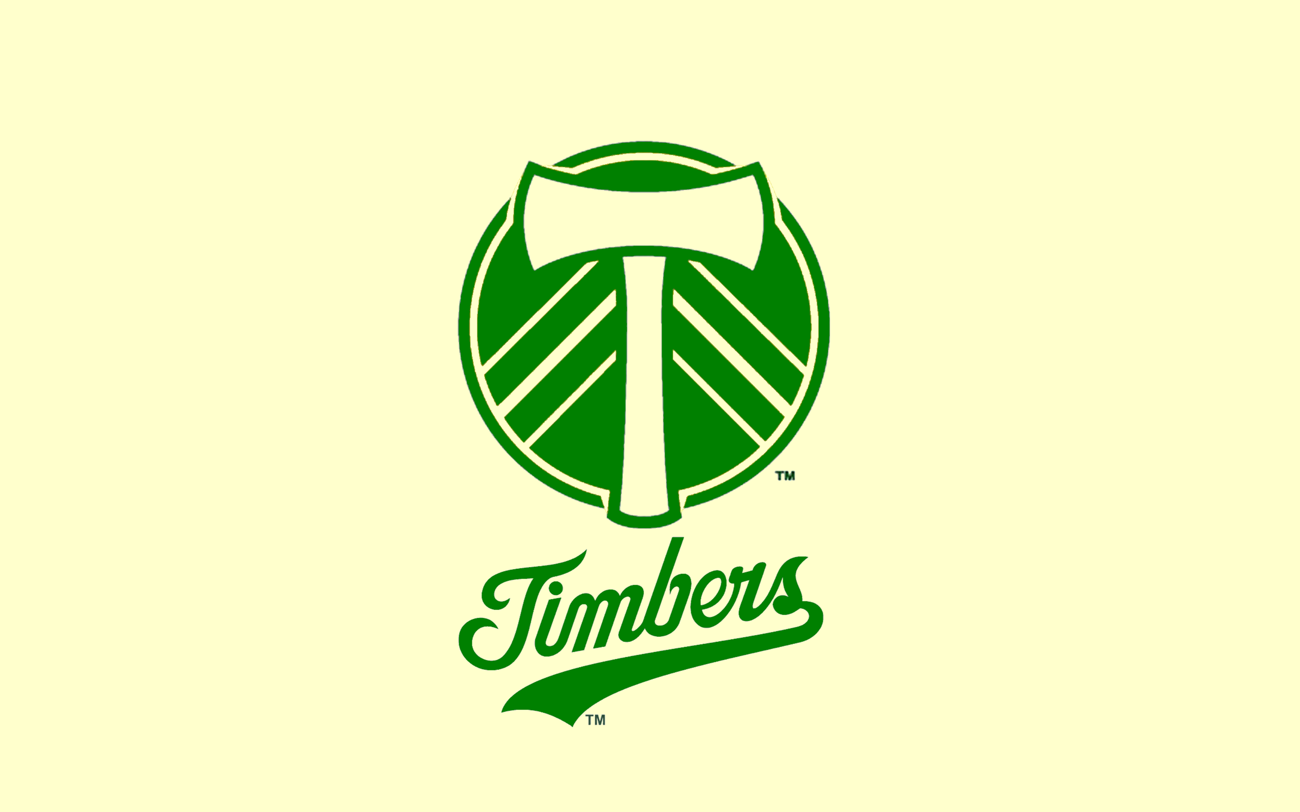 Custom Portland Timbers desktop wallpaper