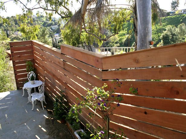 Building a Horizontal Plank Fence