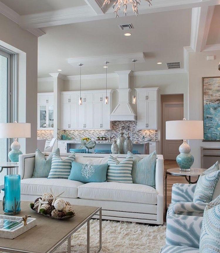 Beach House Decor, Good Living Room