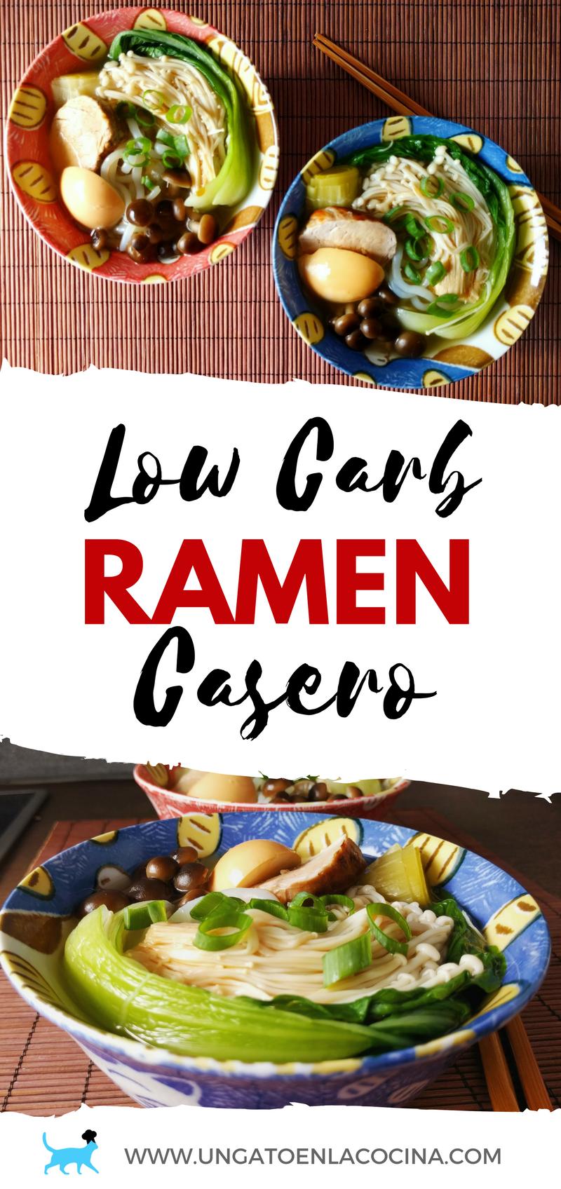 Low Carb Ramen Casero